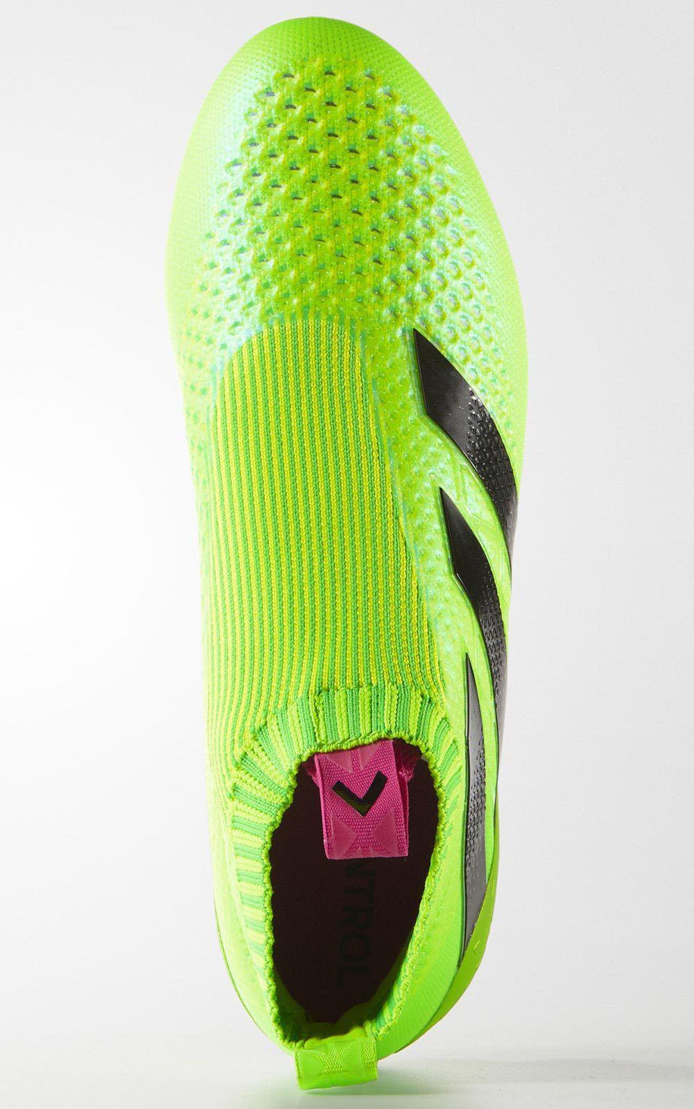 Bild der grünen Fussballschuhe  adidas ace16+ purecontrol.