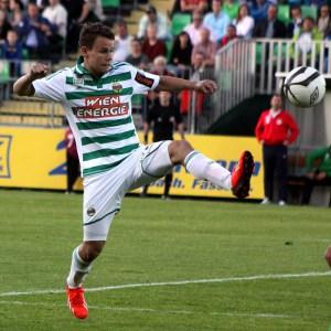 Bild zeigt den österreichischen Fußballer Louis Schaub.